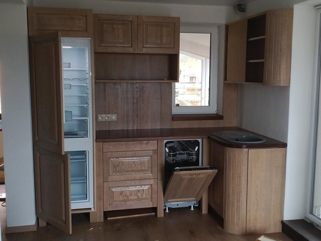 Kuchyňa drevo č